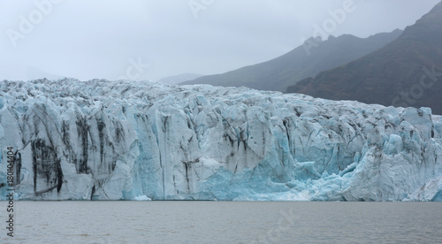 Printed kitchen splashbacks Glaciers The Fjallsarlon glacier lake in summer, Iceland