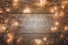 Luces De Navidad,fondo Adornos De Navidad