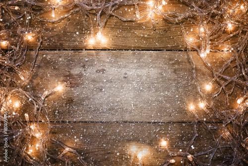 Photo luces de navidad,fondo adornos de navidad