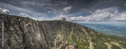 Fototapeta Giant Mountains, Krkonoše, Riesengebirge, Karkonosze, Śnieżne Kotły obraz