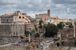 The Imperial Fora (Fori Imperiali in Italian) in Rome