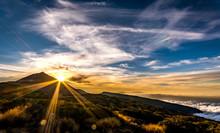 Mount Teide At Sunset