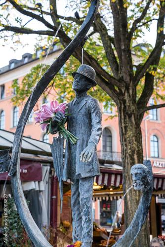 Zdjęcie XXL Monachium - Stare Miasto - Karl Valentin przy Viktualienmarkt