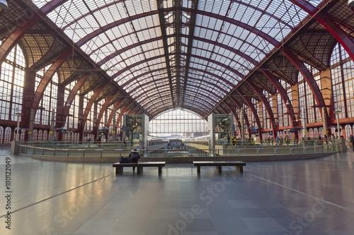 Foto op Plexiglas Antwerpen Bahnhof von Anwerpen