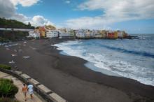 Playa Jardin In The Tourist To...