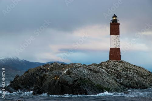 Garden Poster Lighthouse fin del mundo