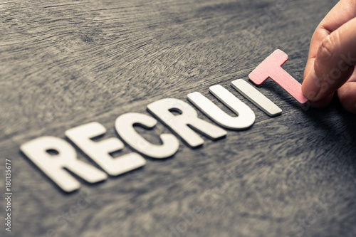 Fotografía  RECRUIT