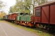 Alter Güterzug im Landschaftspark Duisburg-Nord