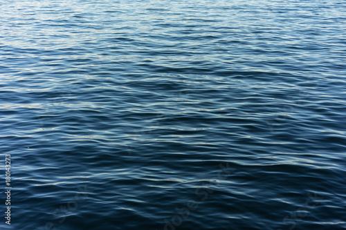Slika na platnu blue water lake close up structure design