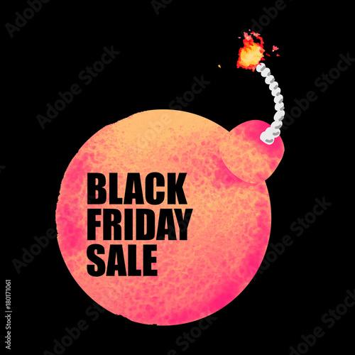 Fotografie, Obraz  Black Friday Sale banner