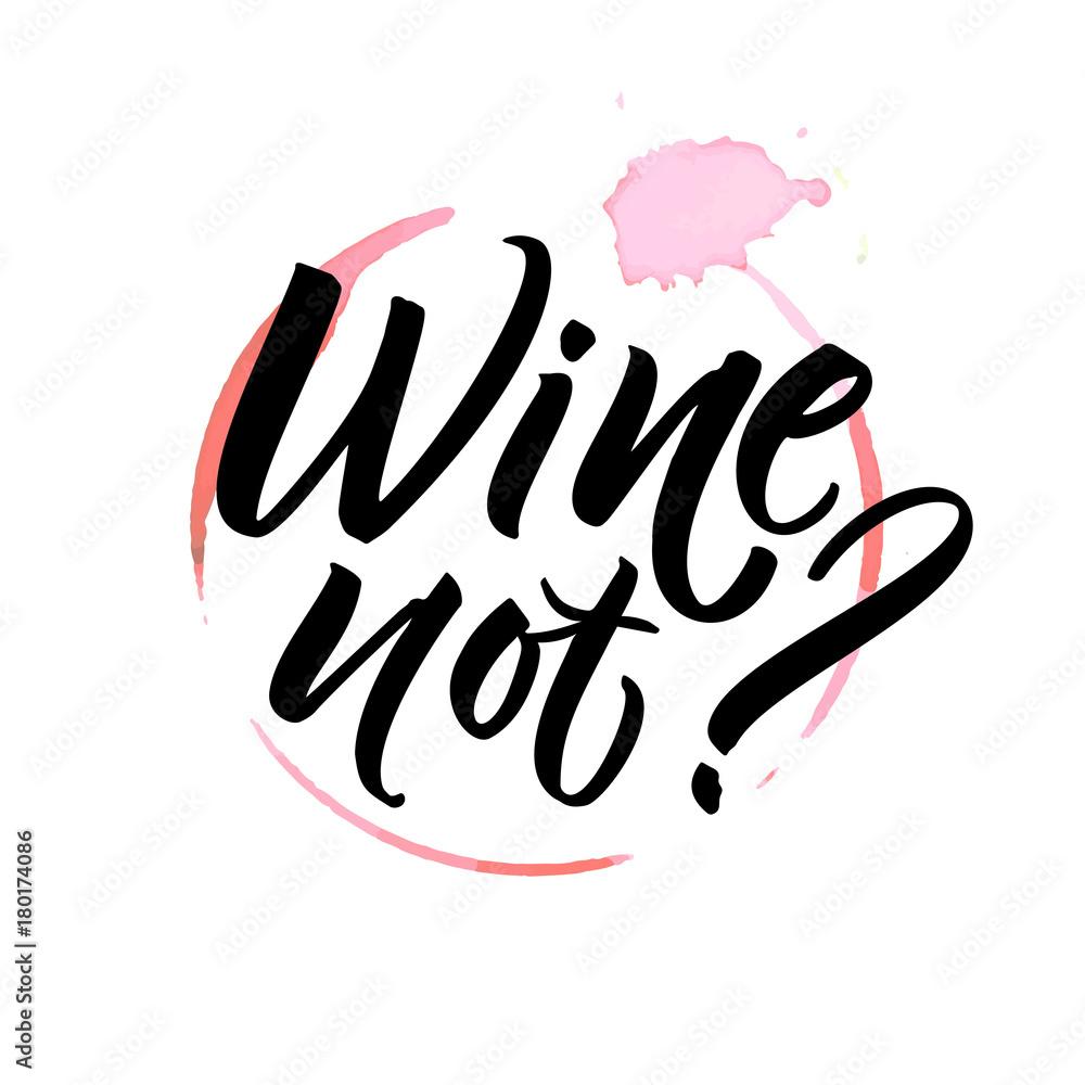 Láminas Wine not | Europosters.es