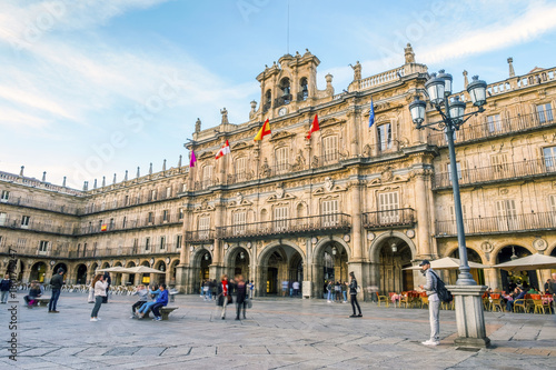 City town of Salamanca, Castile and Leon, Spain
