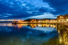 Night View Of Oban, Scotland