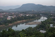 Top View cityscape of Luang Prabang, Laos.
