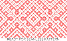 Traditional Russian And Slavic Ornament,DISABLING LAYERS, YOU CAN OBTAIN SEAMLESS PATTERN