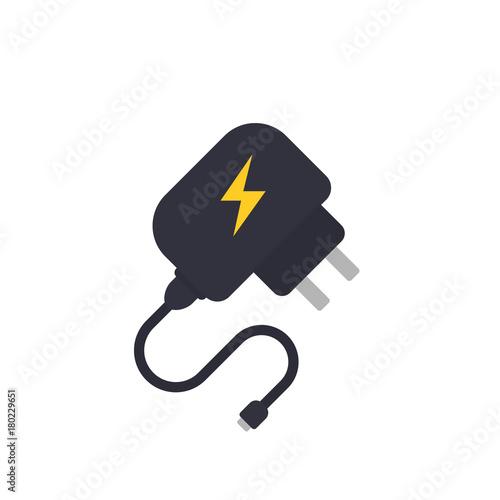 Mobile charger vector illustration Fototapete
