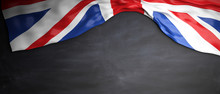 Great Britain Flag Placed On B...