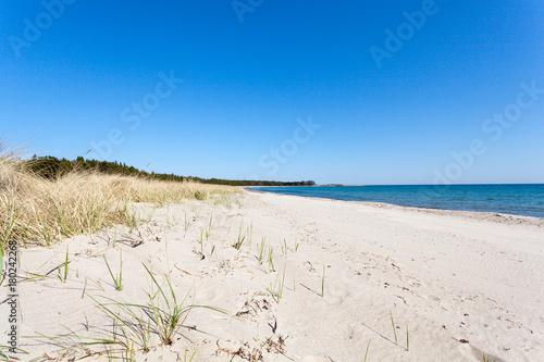 Fotografía Sandstrnd på Gotland i Sverige en sommar dag