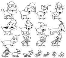 Vector Collection Of Christmas...