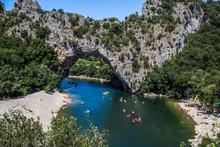 Kayak In Ardeche, France