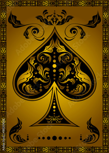 Photo the spades ace