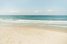 View On The Tel-Aviv Beach And Sea