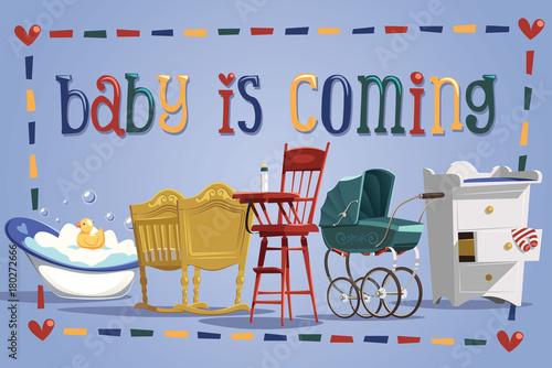 In de dag Doodle Baby is coming