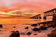 Gorgeous Sunset Of Bahia Honda...