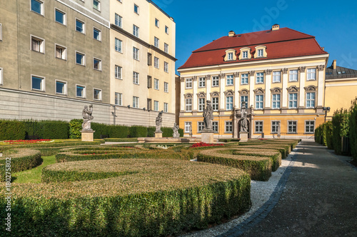 Obraz na dibondzie (fotoboard) Muzeum Ogrodu Miasta Wrocławia.