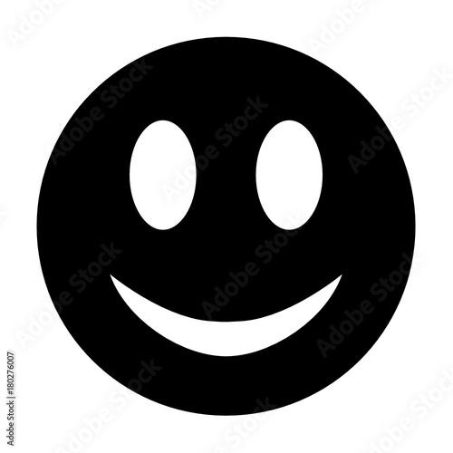 Photographie uśmiech człowieka ikona