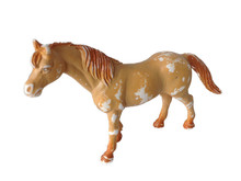 Old Plastic Horse Toy