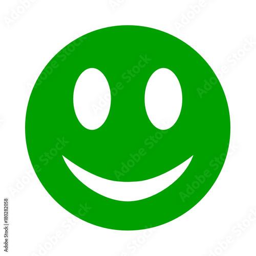 uśmiech człowieka ikona Fototapet
