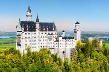 Famous Neuschwanstein Castle, ...