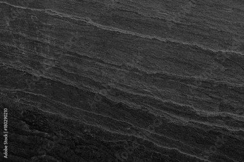 Tuinposter Stenen Dark grey black slate background or texture.