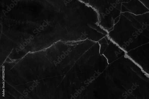 Photo sur Toile Les Textures abstract natural marble black and white blank for design.