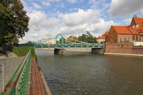 Obraz na dibondzie (fotoboard) Centrum Wrocławia, Polska