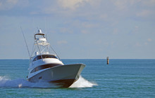 A Luxury Sport Fishing Boat Re...