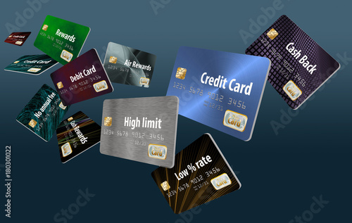 Choosing the right credit card is the theme of this