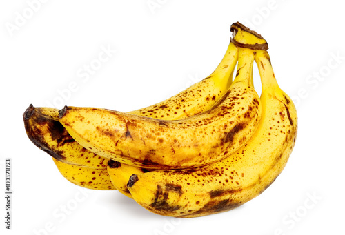 Fotomural Yellow over ripe bananas