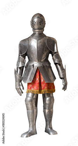 knight armour suit Canvas Print