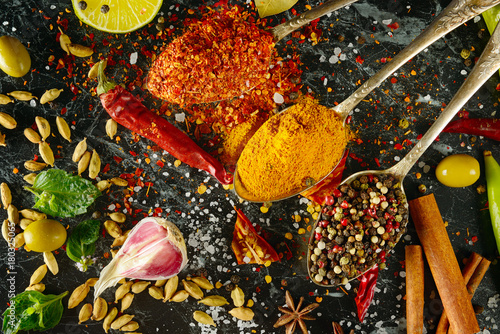 variety-of-spices-and-herb-on-kitchen