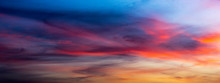 Colorful Cirrus Cloud On Twili...
