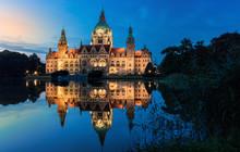 Hanover's City Hall At Blue Ho...