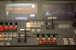 Broadcast studio video and audio switcher mixer