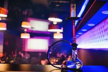Hookah Bar With A Nice Clear B...