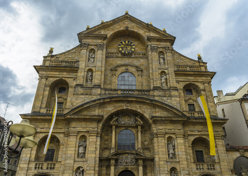 Fotografie, Obraz  Catholic church St. Martin Bamberg