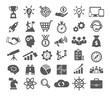 Leinwandbild Motiv Startup icons set