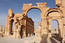 Arch Of Triumph. Ruins Of The ...