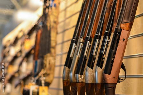 Fotografía  guns in row