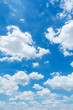Leinwandbild Motiv clear blue sky background,clouds with background.
